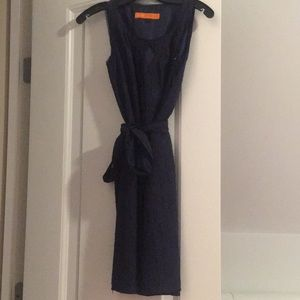 Cynthia Steffe Navy Floral Dress XS